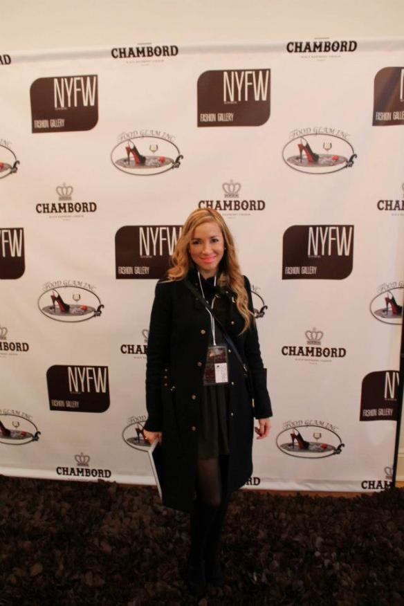 Melissa Delgado NYFW 2013